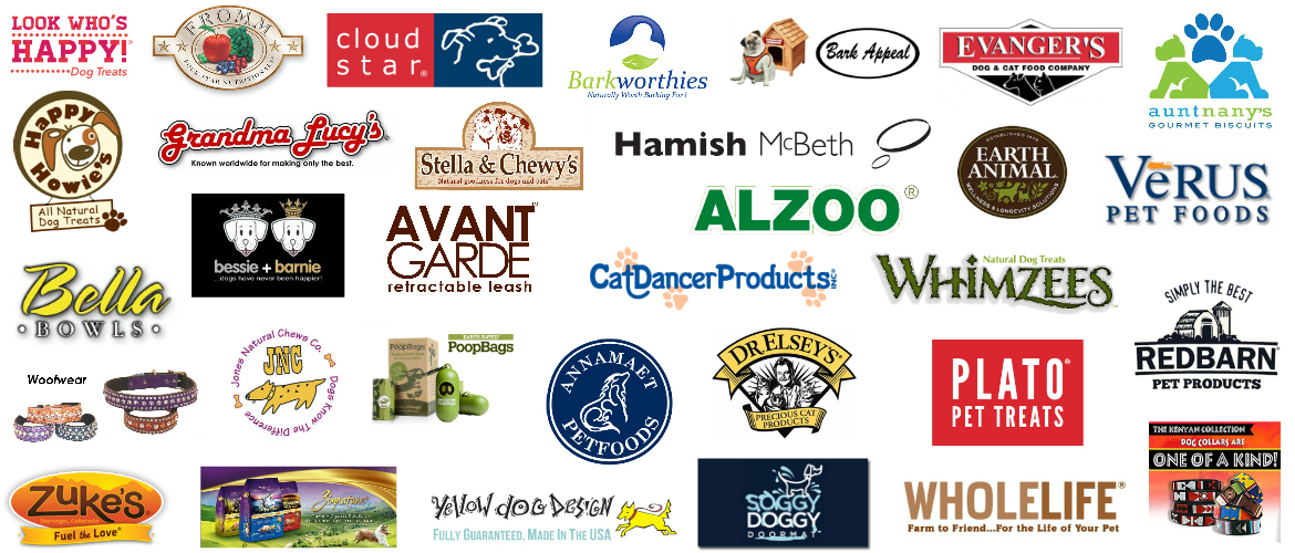 Pet Food & Pet Supply Brands We Carry